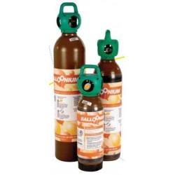 Alquiler botella mediana con válvula látex y foil