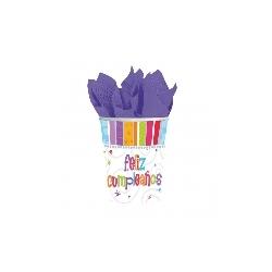 Vasos Feliz Cumpleaños