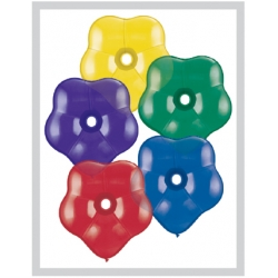 "Globos Flor surtidos 16""-38cm Qualatex (50)"