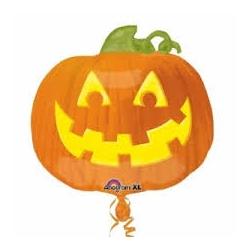 Globo Calabaza Halloween foil