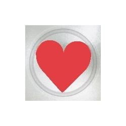 Plato San Valentín de 17cm