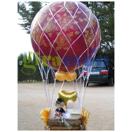 Red para globo aerostático 3'-90cm