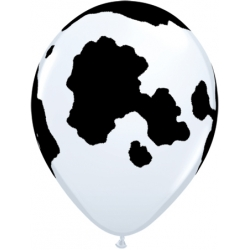 "Globos VACA 11""-28cm Qualatex"