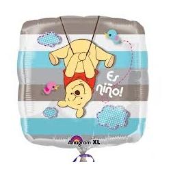 Globo Es Niño Pooh foil