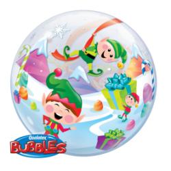 Bubble Burbuja Elfos Santa