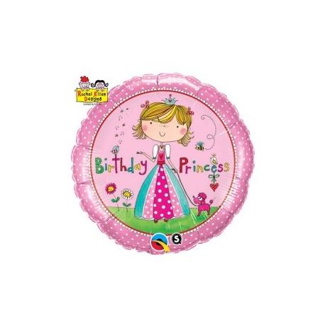 Globo Feliz Cumpleaños Princesa foil