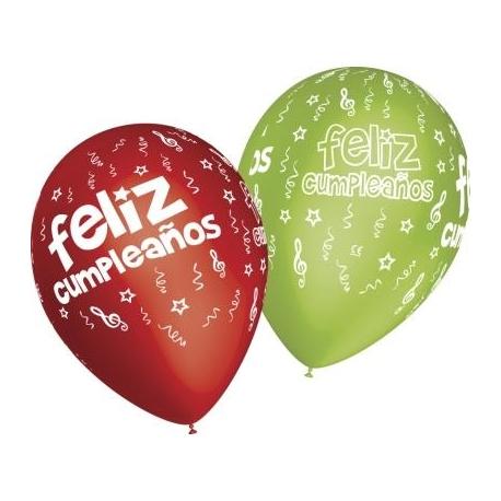 Globos feliz cumple espirales 12 30cm tg en globos para - Ver fotos de cumpleanos ...