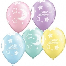 "Globos Baby Shower 11""-28cm Qualatex"