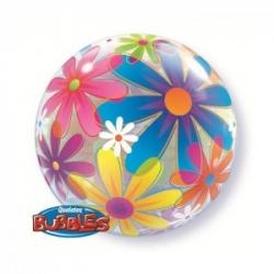 Bubble Burbuja Flores