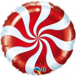 "Globo Espiral Candy 18""-45cm foil"