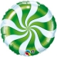 "Globo Espiral Candy 9""-23cm foil"