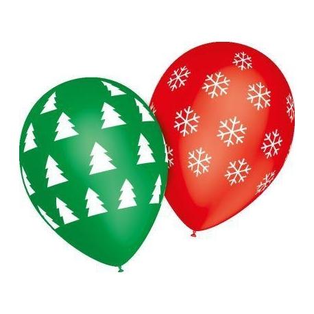"""Globos Navidad copos 12""""-30cm TG"""