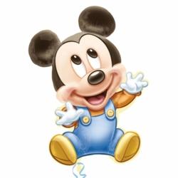 Globo Mickey BEBE Foil