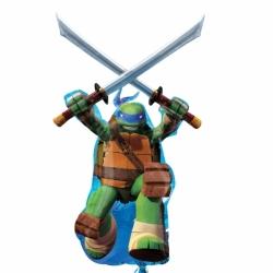Globo Tortuga Ninja forma Foil