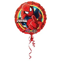 Globo Spiderman Ultimate Redondo Foil