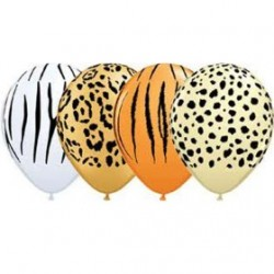"Globos SAFARI 11""-28cm Qualatex"