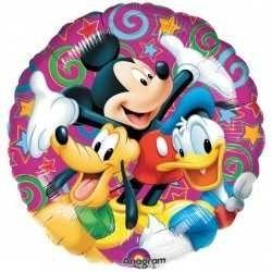 """Globo Mickey y amigos 18""""-45cm"""