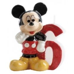 Vela Mickey número 6