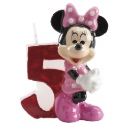 Vela Minnie número 5