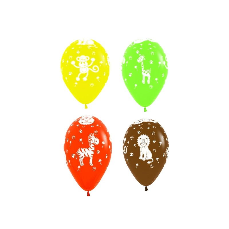 Encantador Figuras De Globos Faciles Componente Ideas para el