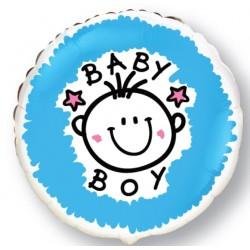 Globo Baby boy-girl TG foil