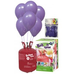 PACK globos ECO LILA Mediana Plus