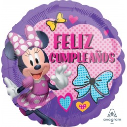 Globo Feliz Cumple Minnie Foil