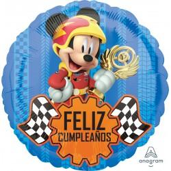 Globo Feliz cumple Mickey carrera Foil