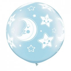 Globos gigantes Baby Shower 3'-90cm Qualatex