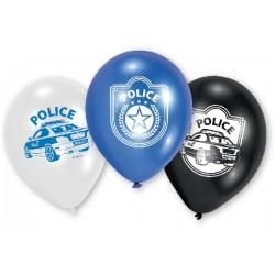 """Globos Policias 9""""-23cm"""