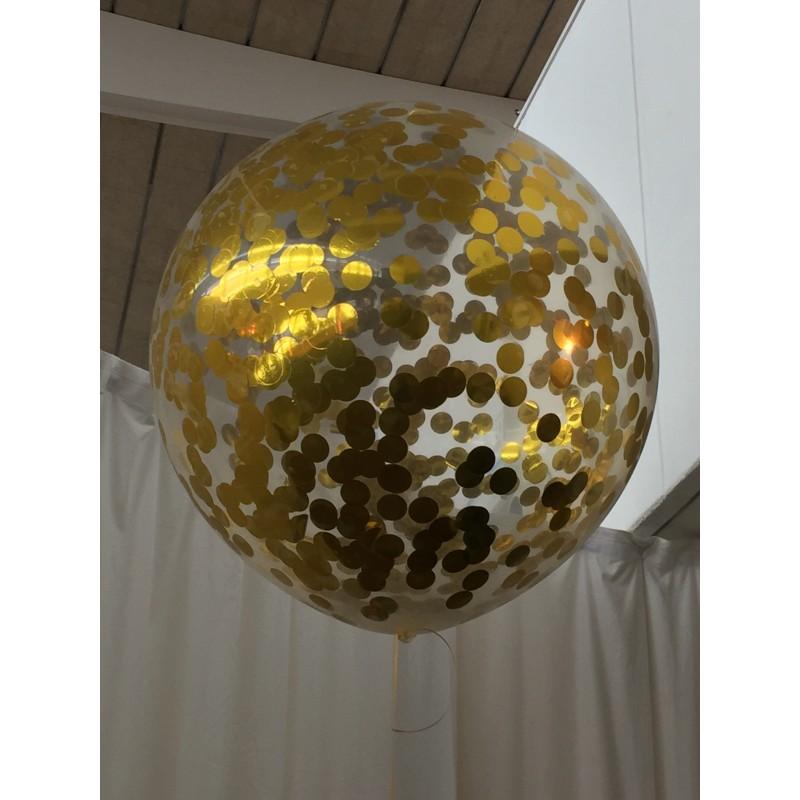 Confeti met lico redondo para introducir en globos for Como hacer confeti