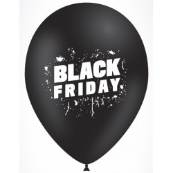 "Globos BLACK FRIDAY 12""-30cm TG (50)"