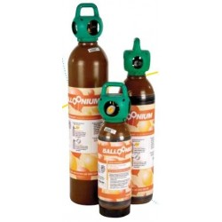 Botella helio alquiler 7,82m3 + válvula para latex