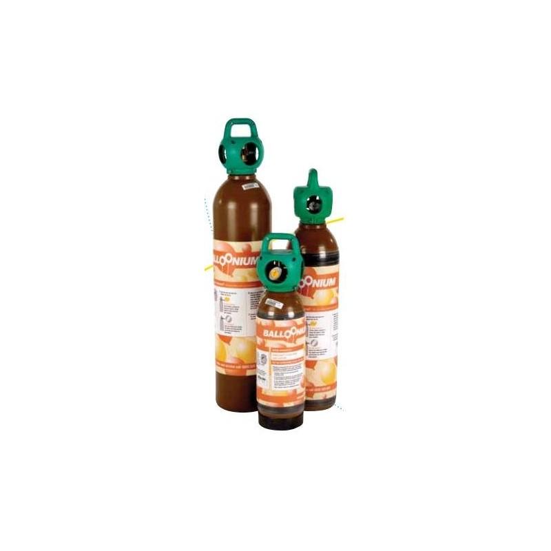 Alquiler botella grande con válvula latex y foil