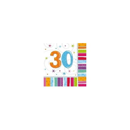 Servilletas Feliz 30