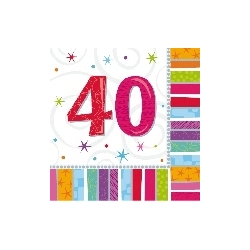 Servilletas Feliz 40