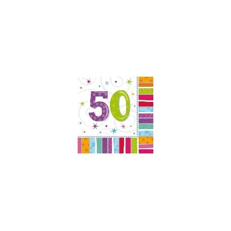 Servilletas Feliz 50