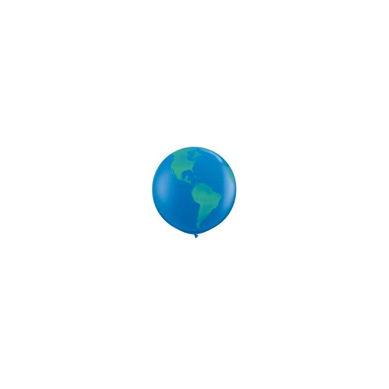 Globos del Mundo 3' Qualatex