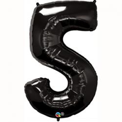 Globo Número 5 de foil Qualatex