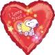 Globo Te Quiero Snoopy 45cm Foil