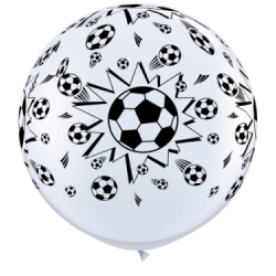 Globos fútbol 3'-90cm Qualatex
