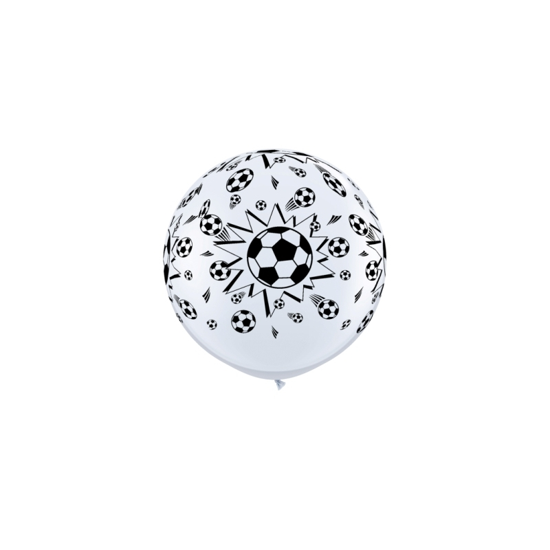 Globos fútbol 3'-90cm Qualatex