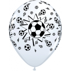 "Globos fútbol 11""-28cm Qualatex"