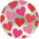 Platos San Valentín de 22cm