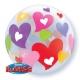 Bubble Burbuja Corazones