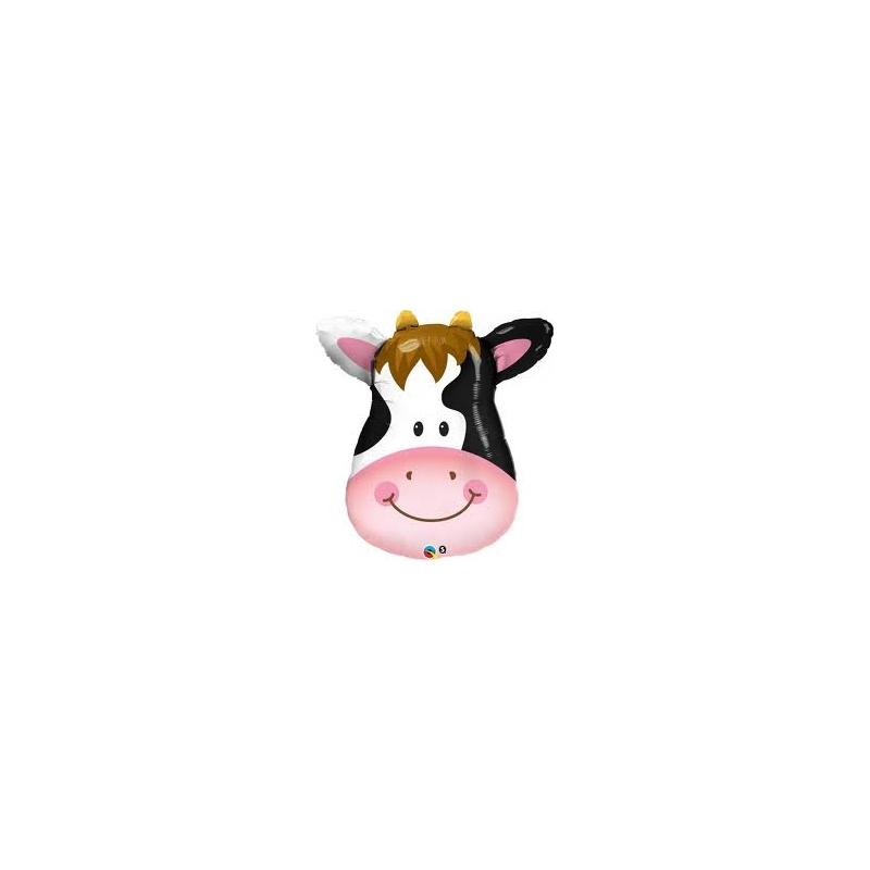 Globo Vaca cara foil 80cm