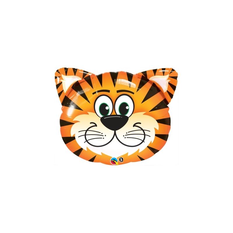 Globo Tigre cara foil 76cm