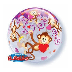 Bubble Burbuja Love Monkeys