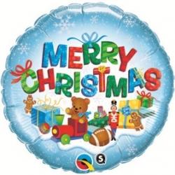 Globo Regalos Navidad Redondo foil