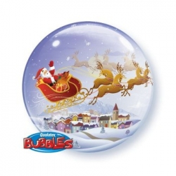 Bubble Burbuja Santa Trineo